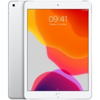 Apple iPad 10.2 Wi-Fi + Cellular 128Gb 2019 Silver (Серебристый)