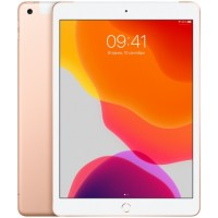 Apple iPad 10.2 Wi-Fi + Cellular 128Gb 2019 Gold (Золотой)