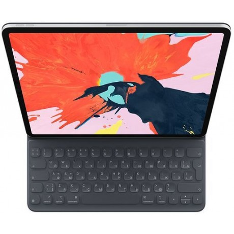 Клавиатура APPLE Smart Keyboard Folio, iPad Pro 12.9 черный