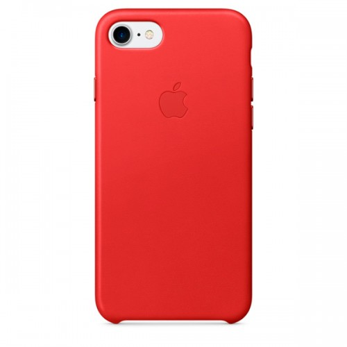 Чехол для iPhone Apple iPhone 7/8 Leather Case (PRODUCT)RED (MMY62ZM/A)