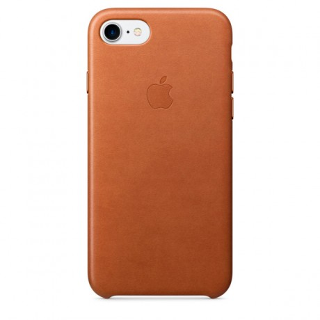 Чехол для iPhone Apple iPhone 7/8 Leather Case Saddle Brown (MMY22ZM/A)