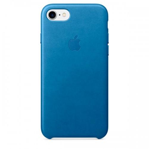 Чехол для iPhone Apple iPhone 7/8 Leather Case Sea Blue (MMY42ZM/A)