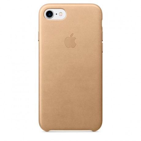 Чехол для iPhone Apple iPhone 7/8 Leather Case Tan (MMY72ZM/A)