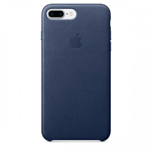 Чехол для iPhone Apple iPhone 7/8 Plus Leather Case Midn.Blue (MMYG2ZM/A)