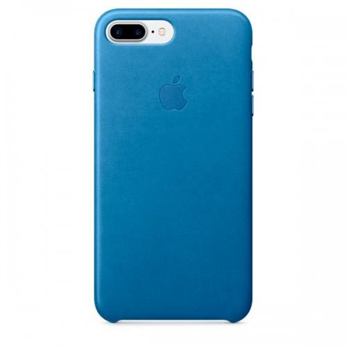 Чехол для iPhone Apple iPhone 7/8 Plus Leather Case Sea Blue (MMYH2ZM/A)
