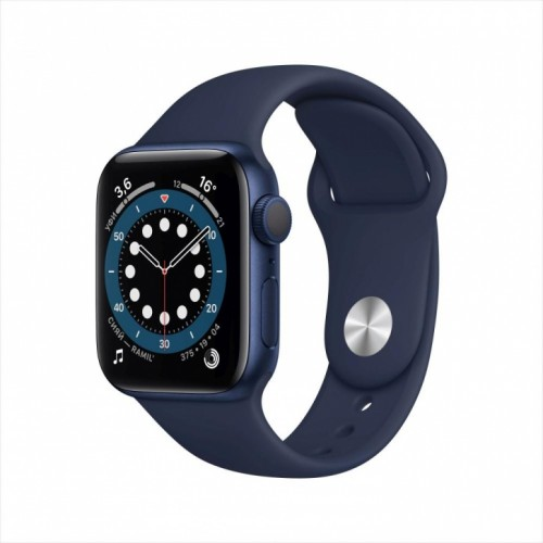 Смарт-часы Apple Watch Series 6, 40 мм, корпус из алюминия синего цвета, спортивный ремешок