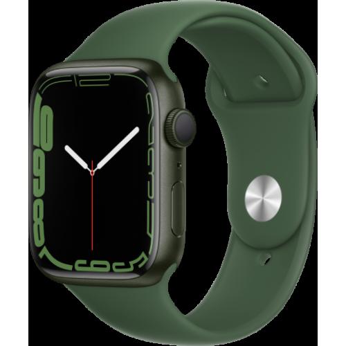 Смарт-часы Apple Watch Series 7 45 мм корпус из алюминия зеленого цвета спортивный ремешок