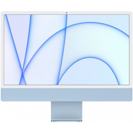 "Apple iMac 24"" Retina 4,5K, M1 (8-core GPU), 8 ГБ, 256 ГБ (синий)"