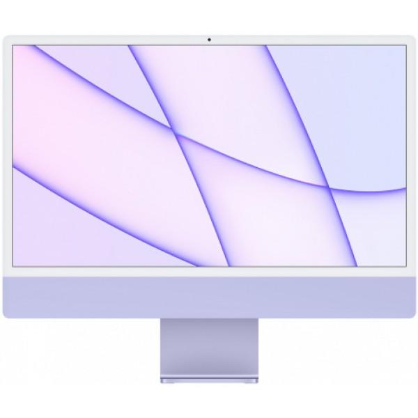 "Apple iMac 24"" Retina 4,5K, M1 (8-core GPU), 8 ГБ, 256 ГБ (фиолетовый)"