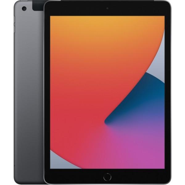 Apple iPad 10.2 Wi-Fi + Cellular 128Gb 2020 Space gray (Серый космос)