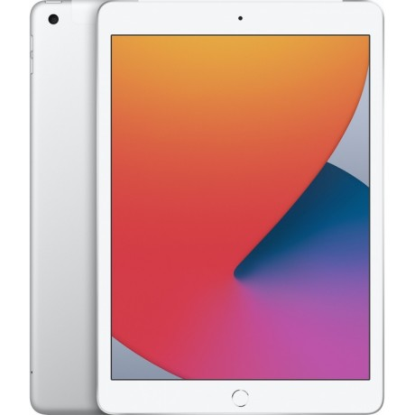 Apple iPad 10.2 Wi-Fi + Cellular 128Gb 2020 Silver (Серебристый)