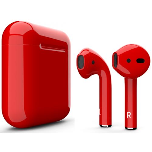 Беспроводные наушники Apple AirPods 2 ( Jet Red )