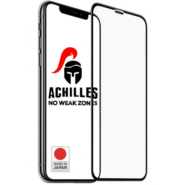Защитное стекло для iPhone 11 Pro Max Premium 5D ACHILLES, Черное фото