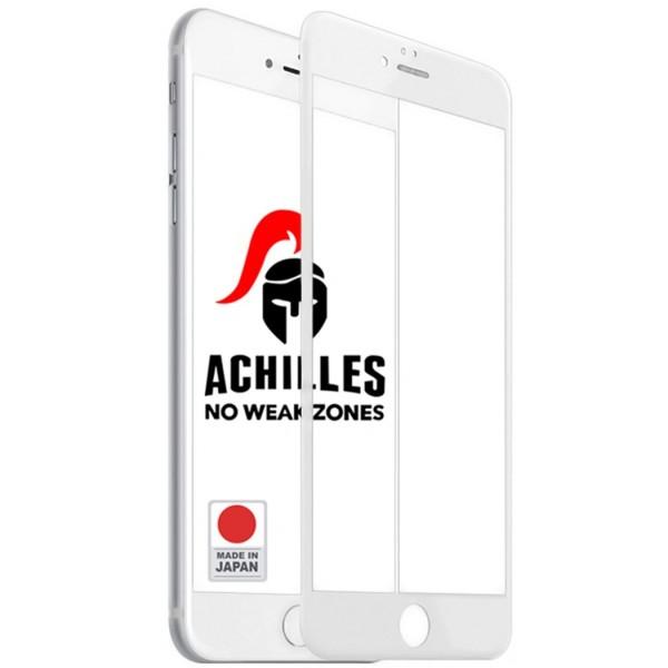 Защитное стекло для iPhone 8 Premium 5D ACHILLES, Белое