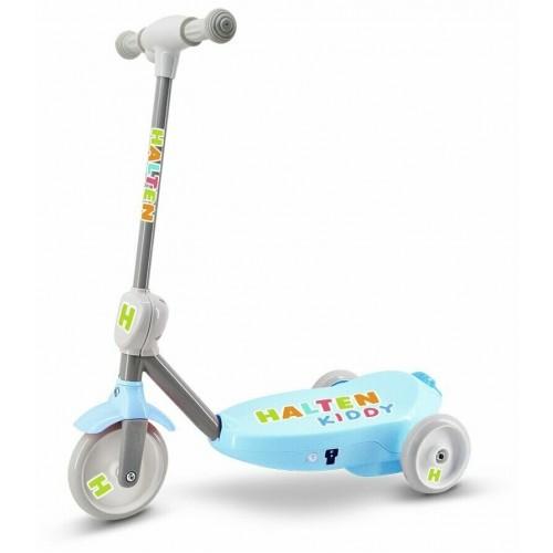 Электросамокат для малышей Halten Kiddy, голубой