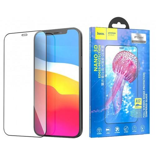 Защитное стекло для iPhone 12 Mini Hoco Nano 3D закаленное