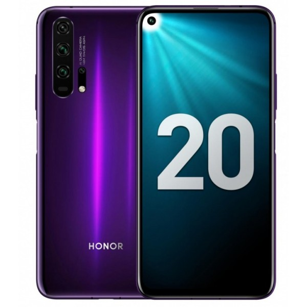 Honor 20 Pro 8/256GB (Мерцающий черно-фиолетовый) фото
