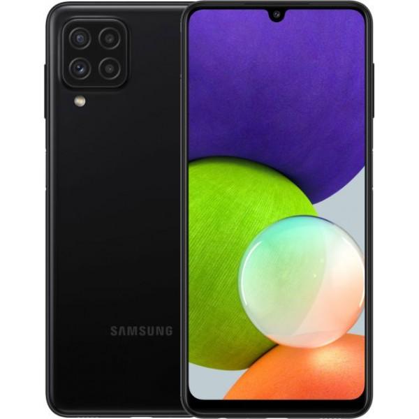 Samsung Galaxy A22 4/64GB черный фото