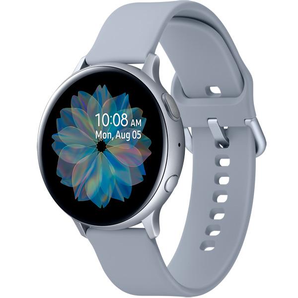 Samsung Galaxy Watch Active2 44 мм, корпус из алюминия, арктика фото