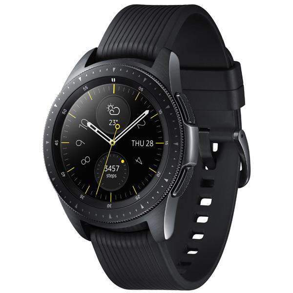 Samsung Galaxy Watch 42 мм Midnight Black, черный фото