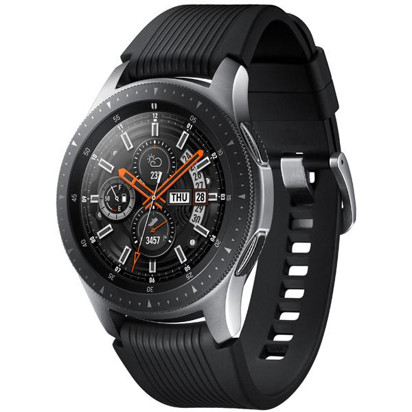Samsung Galaxy Watch 46 мм Silver, серебристая сталь фото