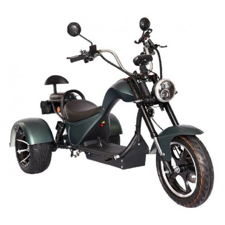 Электробайк Skyboard Trike Chopper-2000
