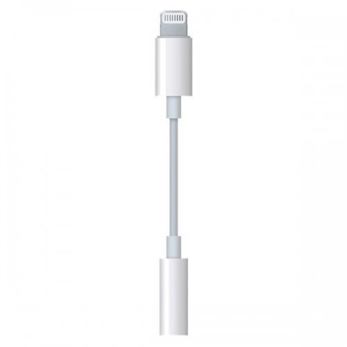 Переходник для iPod, iPhone, iPad Apple Lightning to 3.5mm Headphone Adapter (MMX62ZM/A)