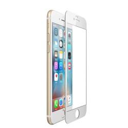 Защитное стекло для iPhone 8 2020, 5D, на весь экран (Белое)