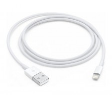 Кабель Apple, Lightning 1м, белый, Оригинальный