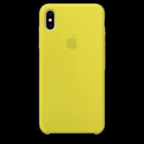 Силиконовый чехол для Apple iPhone X Silicone Case (флеш)