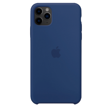 Силиконовый чехол для Apple iPhone 11 Pro Max Silicone Case (голубая Аляска)