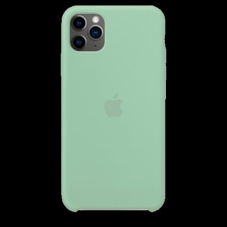 Силиконовый чехол для Apple iPhone 11 Pro Max Silicone Case (берилл)