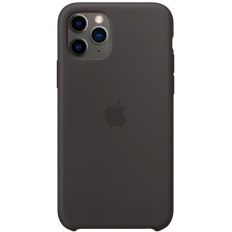 Силиконовый чехол для Apple iPhone 11 Pro Silicone Case (черный)