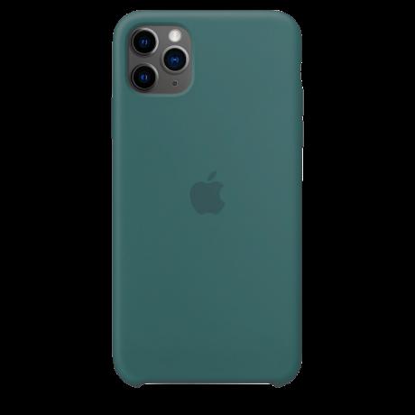Силиконовый чехол для Apple iPhone 11 Pro Silicone Case (кактус)