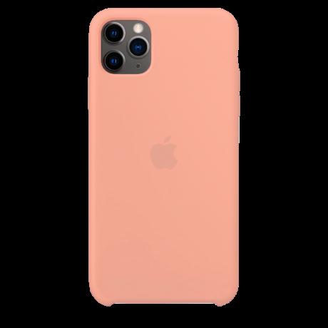 Силиконовый чехол для Apple iPhone 11 Pro Silicone Case (грейпфрут)