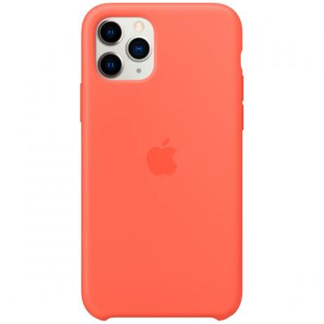 Силиконовый чехол для Apple iPhone 11 Pro Silicone Case (оранжевый)