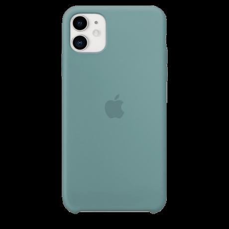 Силиконовый чехол для Apple iPhone 11 Silicone Case (кактус)