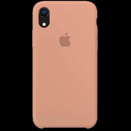 Силиконовый чехол для Apple iPhone XR Silicone Case (розовый песок)