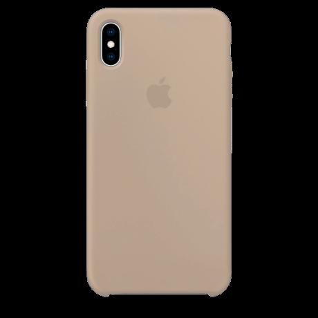 Силиконовый чехол для Apple iPhone XS Max Silicone Case (камень)