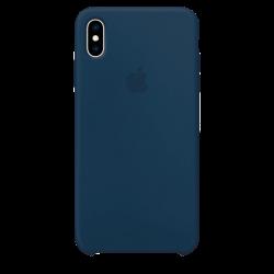Силиконовый чехол для Apple iPhone XS Silicone Case (мягкий зеленый)